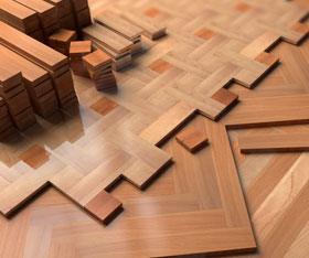Hardwood Parquet Floors